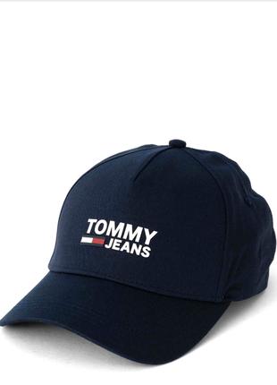Кепка tommy hilfiger (синяя) оригинал