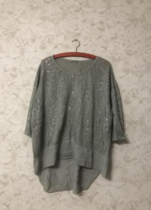 Кофточка блузка италия!