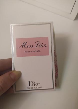 Dior rose and roses