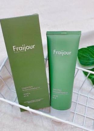 🍃fraijour гель-пилинг для лица original herb wormwood peeling gel, 150 мл