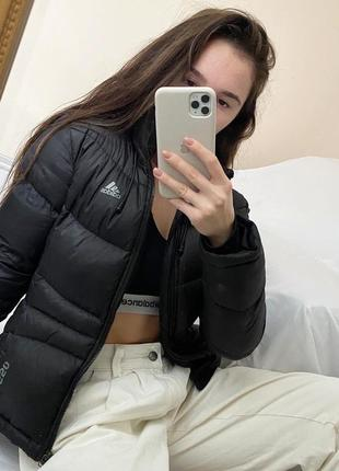 Пуховик куртка adidas p.s