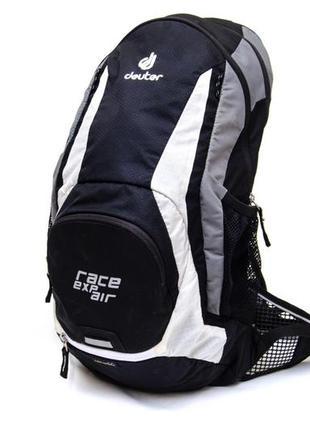 Каркасный рюкзак deuter race exp air black. объем 15 л