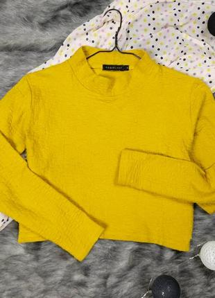 Укороченный свитер джемпер кофточка