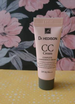Солнцезащитный cc-крем dr.hedison cc cream spf38 мини 5 мл