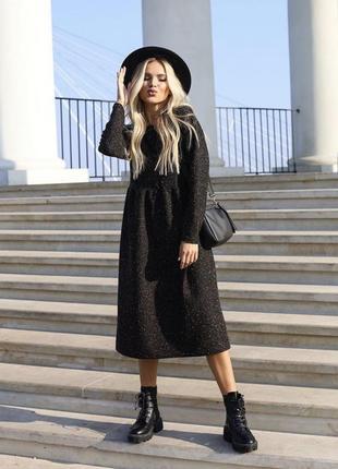 Чёрное платье хит продаж 🖤