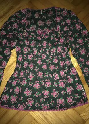 Blutsgeschwister-оригинальная немецкая хлопковая блуза! р.-38