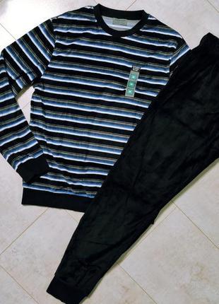 Мужской спортивный костюм, мужской велюровый костюм