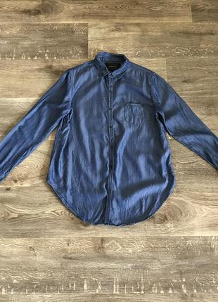 Рубашка maison scotch джинсовая оригинал