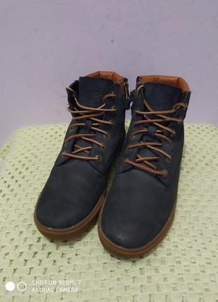 Кожаные ботинки timberland