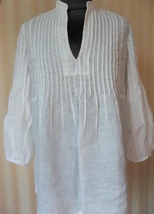 120% lino: новый взгляд на льняную одежду , блуза