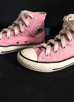 Converse розовые кеды 30 размер
