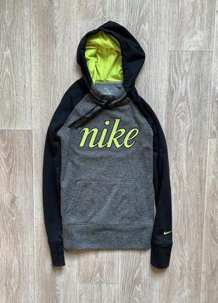Nike therma fit кофта балахон оригинал