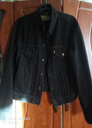 Джинсовый пиджак унисекс винтаж