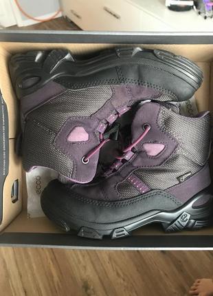 Зимние ботинки ecco gore tex 30 размер