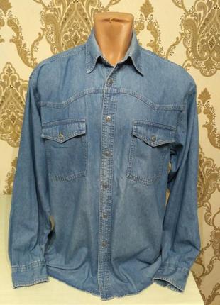 Cavenline джинсовая рубашка с длинным рукавом