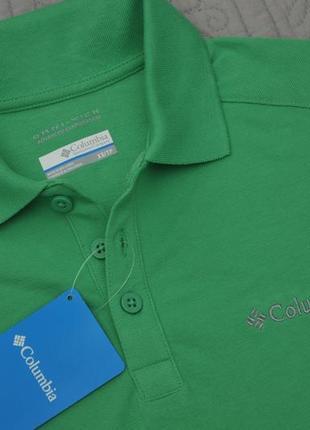 Чоловіча футболка columbia з технологією omni-wick, xs-s. оригінал, сша