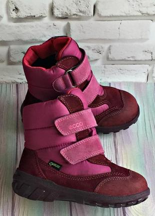 Зимние ботинки ecco gore - tex оригинал!