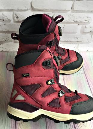 Зимние термо ботинки ecco snow mountain gore-tex 32р