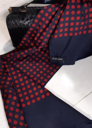 Шарф двойной, состав - шёлк и шерсть
