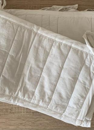 Бортики в кроватку ikea