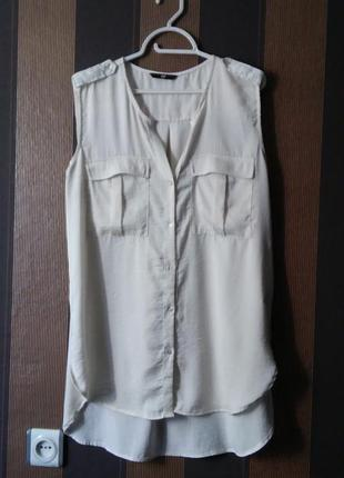 Тоненькая блуза  h&m 50-52р.