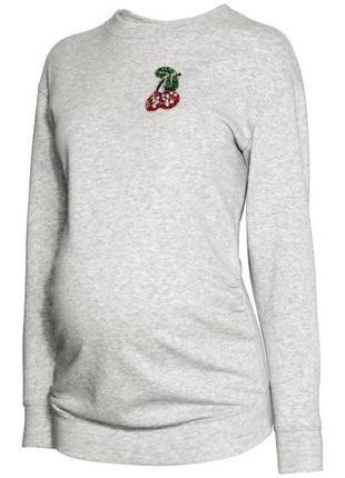 Свитшот h&m mama для беременной кофта свитер