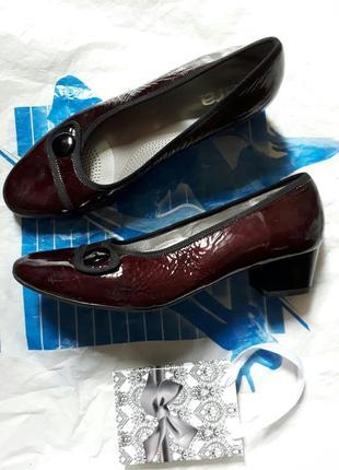 40 германия кожаные туфли