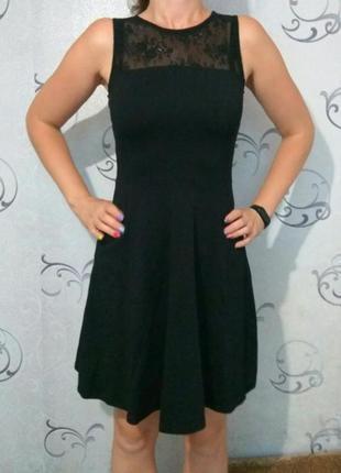Чёрное женское платье # красивое платье # котоновое платье # dorothy perkins