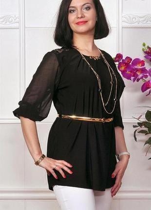 Новая женская блузка # чёрная женская блузка # женская туника # dorothy perkins