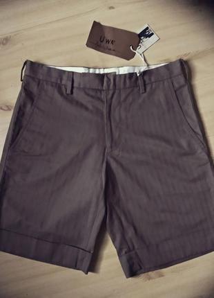 Уценка! фирменные шорты бермуды италия 46