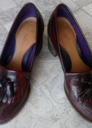 Туфли, лоферы кожа clarks