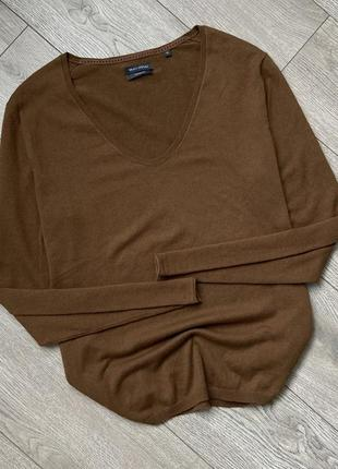 Хлопковая кофта свитер джемпер marc o'polo