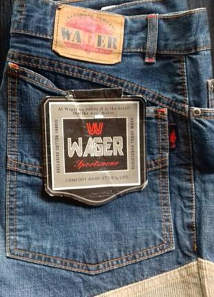 Джинсы мужские wager w32 l34