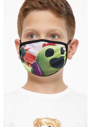 Маска с принтом игры зомбо ферма защитная подростковая