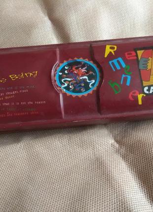 Металлический органайзер для мелких вещей и не только (карандашей, кистей, ручек) пенал