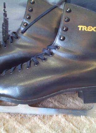 Мужские ботинки с фигурными коньками trex, р 45-45,5 (30 см)