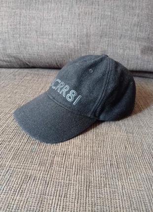 Мужская кепка cerruti 1881 шерсть оригинал, италия