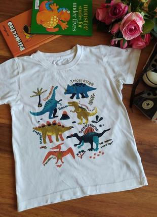 Модная хлопковая футболка st. bernard на 1,5-2 года.