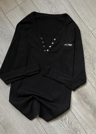 Хлопковая кофта свитер armani