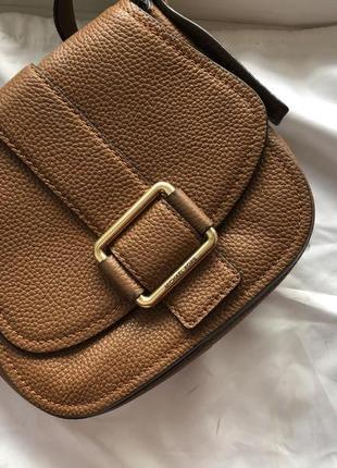 Коричневая сумка michael kors