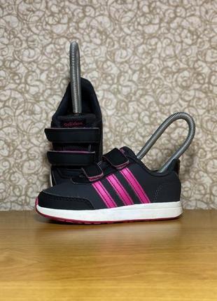Детские спортивные кроссовки на липучке adidas switch 2.0 оригинал размер 24