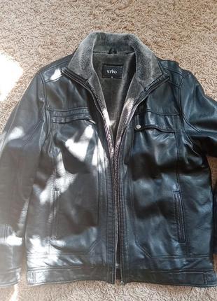 Куртка кожа мужская 58р