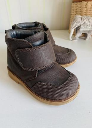 Ботинки woopy orthopedic, нубук, 23р