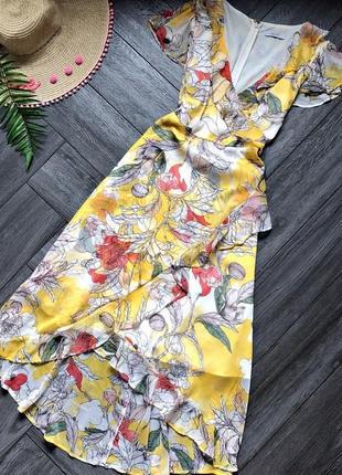 Легкое платье в цветы