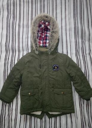 Куртка-парка f&f