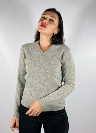 Теплейший шерстяной свитер uni qlo