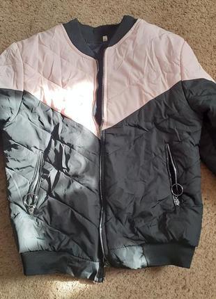 Куртка бомбер деми