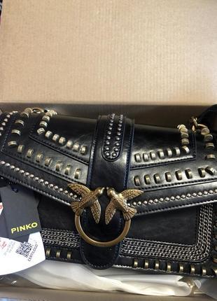 Оригинальная сумка pinko, сумка pinko, сумка брендовая