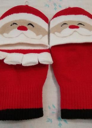 Прикольные перчатки с откидным верхом atmosphere рукавицы