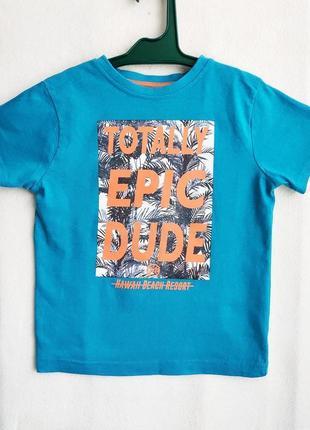 Детская хлопковая футболка primark